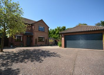 Thumbnail 4 bed detached house for sale in All Saints Green, Worlingham, Beccles