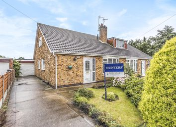 Thumbnail 2 bed semi-detached bungalow for sale in Cherry Wood Crescent, Fulford, York