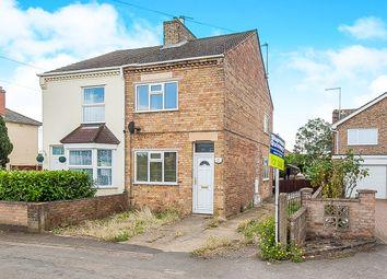 Thumbnail 3 bedroom semi-detached house for sale in Peterborough Road, Farcet, Peterborough