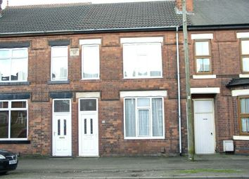 Thumbnail 3 bed terraced house for sale in The Common, South Normanton, Alfreton