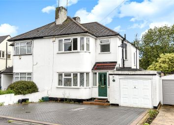 Thumbnail 3 bedroom semi-detached house for sale in Church Avenue, Pinner, Middlesex