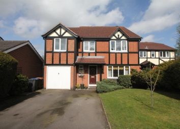 Thumbnail 4 bed detached house for sale in Cumberland Way, Barwell, Leicester
