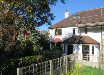 Thumbnail 1 bed semi-detached house to rent in Chapel Road, Tadworth