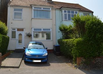 Thumbnail 3 bed semi-detached house for sale in Kent Road, Margate