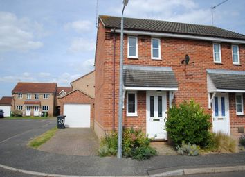 Thumbnail 1 bed semi-detached house to rent in Wallace Close, King's Lynn