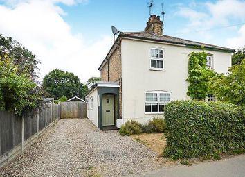 Thumbnail 2 bedroom semi-detached house for sale in High Street, Elsenham, Bishop's Stortford