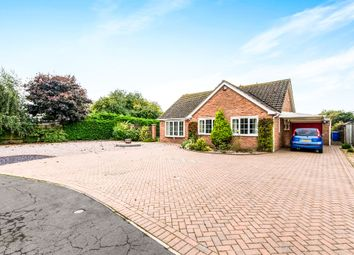 Thumbnail 3 bed detached bungalow for sale in Woodhall Close, Boston