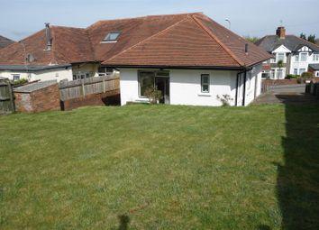 Thumbnail 3 bedroom semi-detached bungalow for sale in Penlan Road, Llandough, Penarth