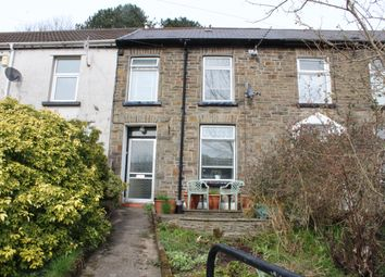 Thumbnail 2 bed terraced house for sale in Tyntyla Road, Ystrad