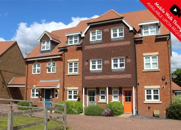 Thumbnail 4 bed town house for sale in Waterers Way, Bagshot, Surrey