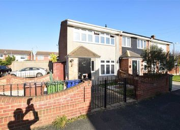 Thumbnail 3 bed end terrace house for sale in Solway, East Tilbury, Essex