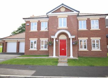 Thumbnail 4 bed detached house for sale in Highgrove Close, Darlington
