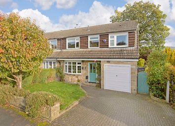 Thumbnail 5 bed semi-detached house for sale in St. Johns Avenue, Addingham, Ilkley