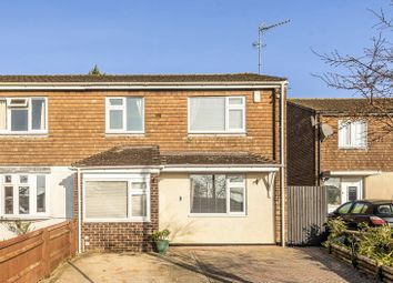 Thumbnail 3 bed end terrace house for sale in Watson Crescent, Wootton, Abingdon