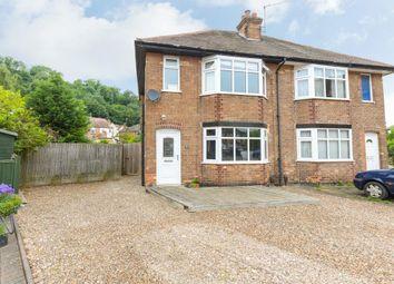 Thumbnail 3 bed semi-detached house for sale in Farnsfield Avenue, Burton Joyce, Nottingham