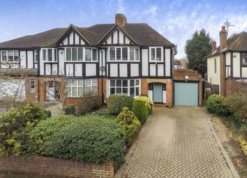 Thumbnail 3 bed detached house for sale in Hinchley Wood, Surrey