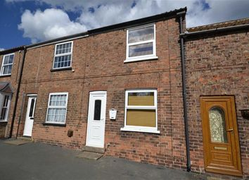 Thumbnail 2 bedroom terraced house to rent in Post Office Row, Withernwick, East Yorkshire