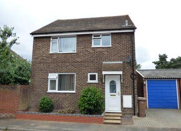 Thumbnail 3 bedroom detached house to rent in Coopers Road, Martlesham Heath, Ipswich