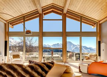 Thumbnail 6 bedroom detached house for sale in Chalet Le Renne D'or, Villars, Switzerland