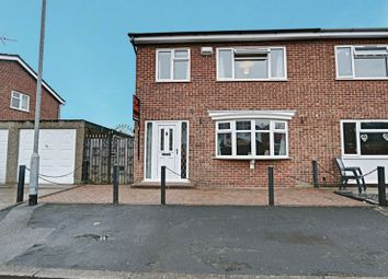 Thumbnail 3 bed semi-detached house for sale in Julian Close, Hull