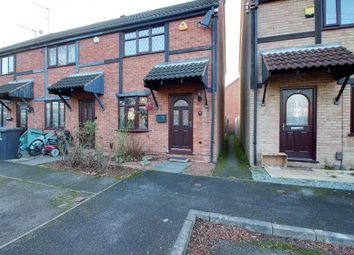 Thumbnail 2 bed end terrace house for sale in Howard Close, Long Eaton, Nottingham
