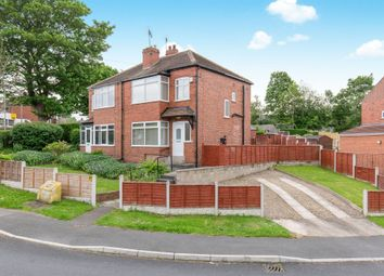 Thumbnail 3 bedroom semi-detached house for sale in Carrholm Drive, Chapel Allerton, Leeds