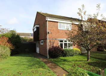 Thumbnail 3 bed semi-detached house for sale in Holmesland Walk, Botley, Southampton