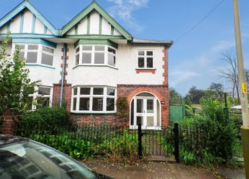 Thumbnail 3 bedroom semi-detached house for sale in Kimberley Road, Evington, Leicester