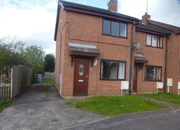 Thumbnail 2 bed town house to rent in Holly Rise, New Ollerton, Newark