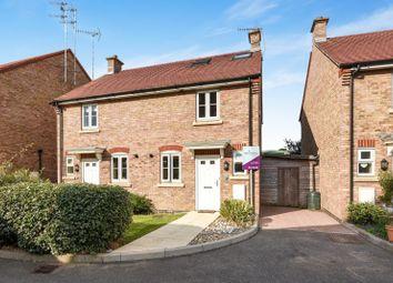 Thumbnail 3 bed semi-detached house for sale in Saddlers Close, Billingshurst