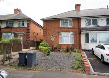 Thumbnail 3 bedroom end terrace house for sale in Cheverton Road, Birmingham