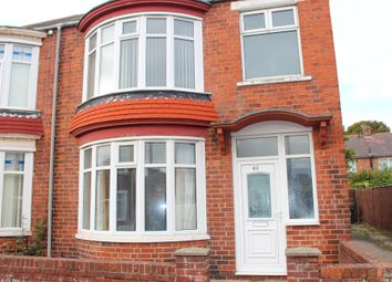 Thumbnail 3 bed semi-detached house to rent in Harrowgate Crescent, Middlesbrough