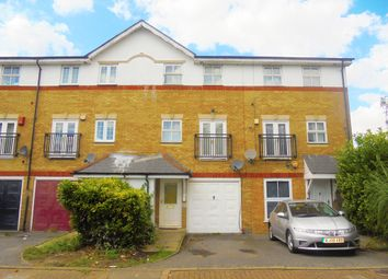 Thumbnail 3 bed terraced house for sale in Lakeside Avenue, Thamesmead, London