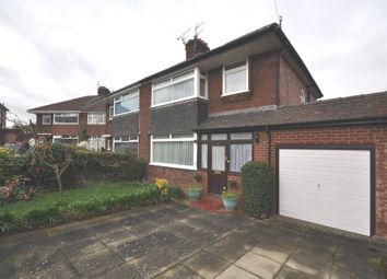 Thumbnail 3 bedroom semi-detached house for sale in The Close, Irby, Wirral