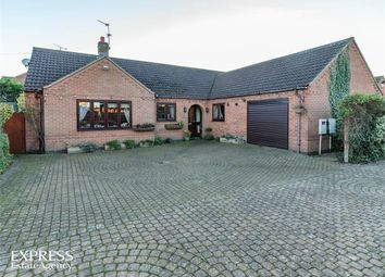 Thumbnail 4 bed detached bungalow for sale in Sykes Lane, Balderton, Newark, Nottinghamshire