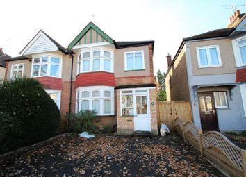 Thumbnail 3 bed semi-detached house for sale in Cambridge Road, North Harrow, Harrow