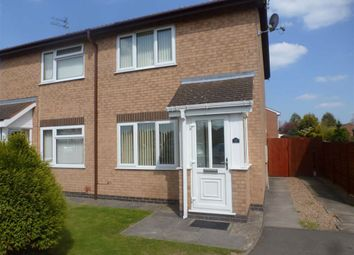Thumbnail 2 bed semi-detached house to rent in Coldstream Close, Hinckley