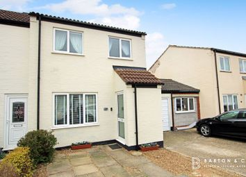 Thumbnail 3 bed semi-detached house for sale in Spinney Close, Long Stratton, Norwich