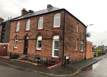 Thumbnail 1 bed semi-detached house for sale in Balmoral Road, Dumfries, Dumfries And Galloway