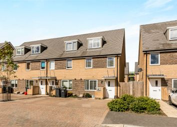 Thumbnail 3 bed town house for sale in Solebay Way, Gosport