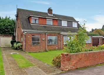 Thumbnail 3 bed semi-detached house for sale in Holme Court Avenue, Biggleswade