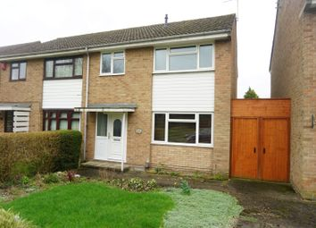 Thumbnail 3 bed semi-detached house for sale in Darenth Drive, Leicester