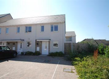 Thumbnail 2 bed end terrace house to rent in Grassendale Avenue, Plymouth