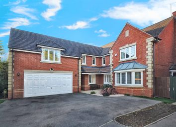 Thumbnail 5 bed detached house for sale in Purslane Drive, Bicester