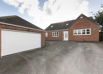 Thumbnail 3 bed detached bungalow for sale in Brookhill Lane, Pinxton, Nottingham