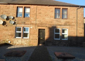 Thumbnail 2 bed flat to rent in Leonard Terrace, Lockerbie