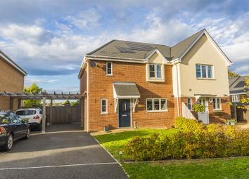Thumbnail 3 bed semi-detached house for sale in Tealby Close, Lower Kingswood, Tadworth