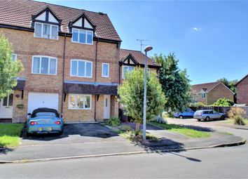 Thumbnail 3 bed town house for sale in Stonybeck Close, Westlea, Swindon