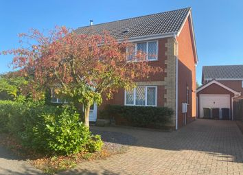 Thumbnail 4 bed detached house to rent in Mallow Way, Wymondham