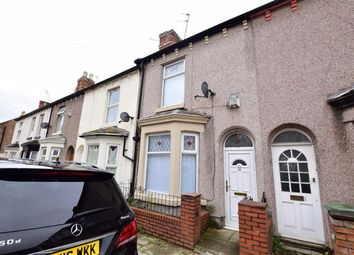 Thumbnail 2 bed terraced house to rent in Charlotte Road, Wallasey, Wirral